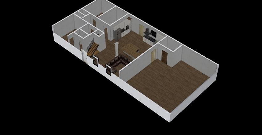 House Draft 1 Interior Design Render