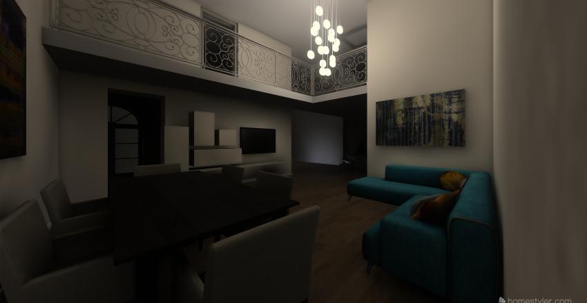 monserrato via Traiano Interior Design Render