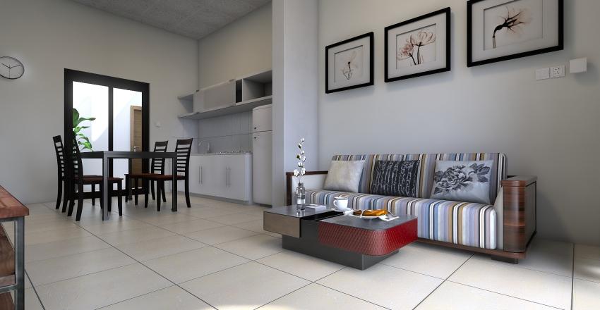 6 x 9,5 +1,2 Interior Design Render