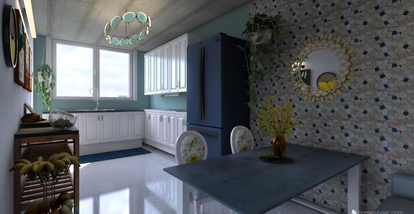 single Interior Design Render