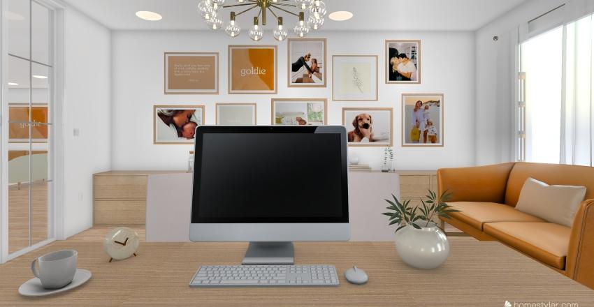 GOLDIE OFFICE Interior Design Render