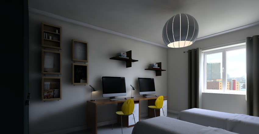 Via Libetta variante Interior Design Render