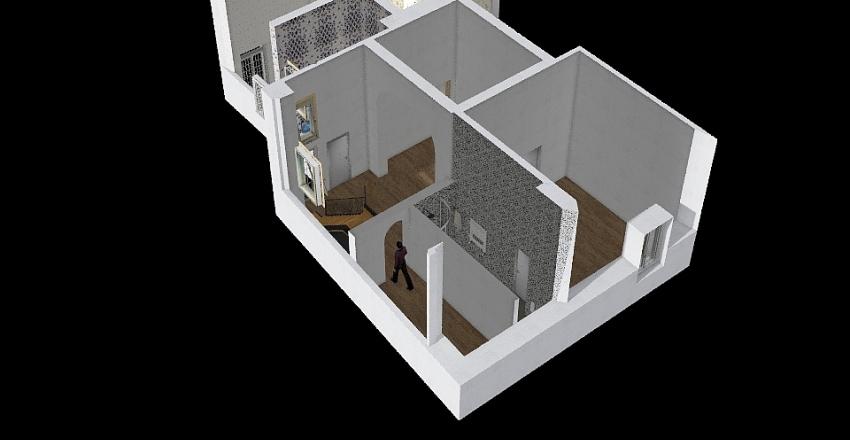 Seconda metà Fede Interior Design Render
