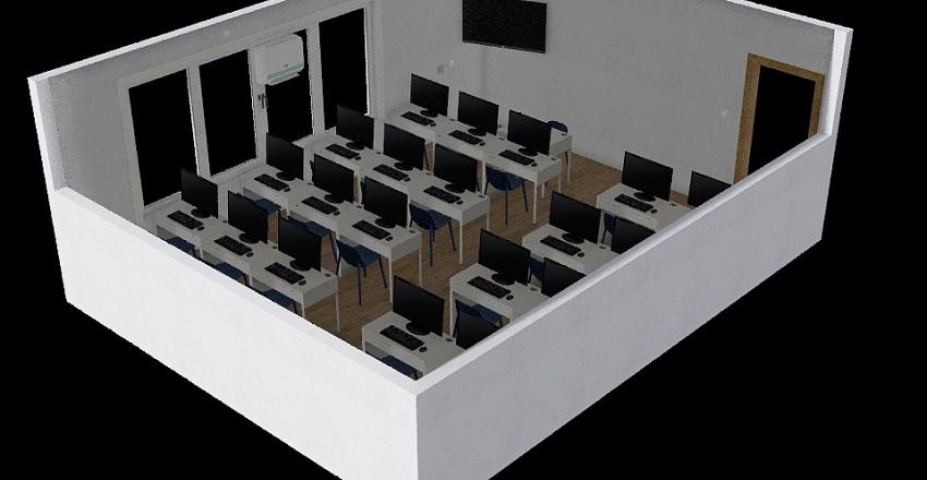 Sala Millenium Interior Design Render