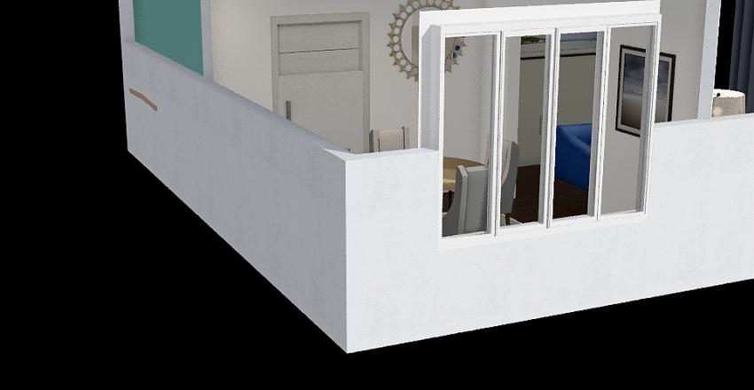 costal Interior Design Render