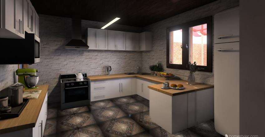 PROYECTO CASA Interior Design Render