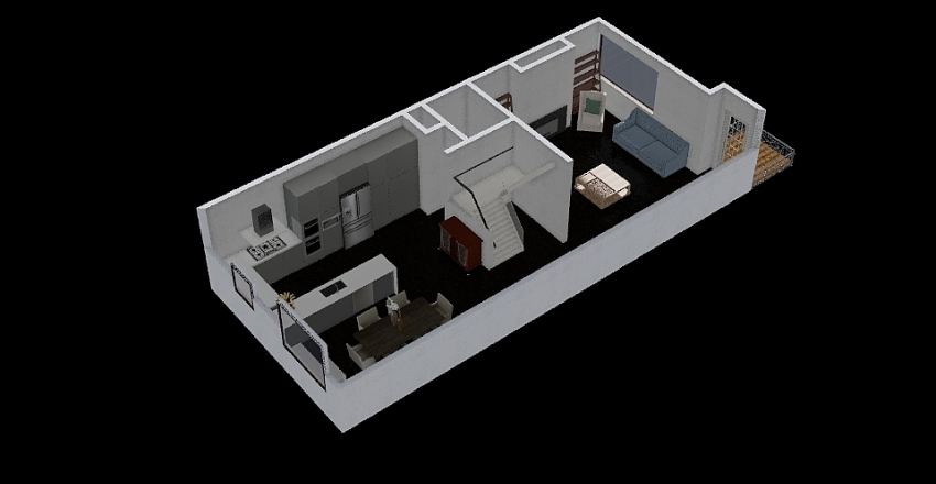 2nd Floor - Berk Edit Interior Design Render