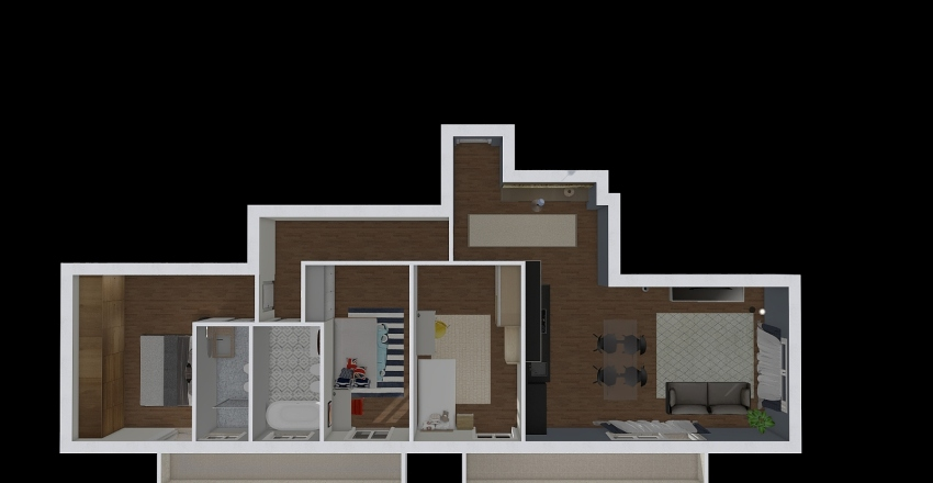 via adige progetto Interior Design Render