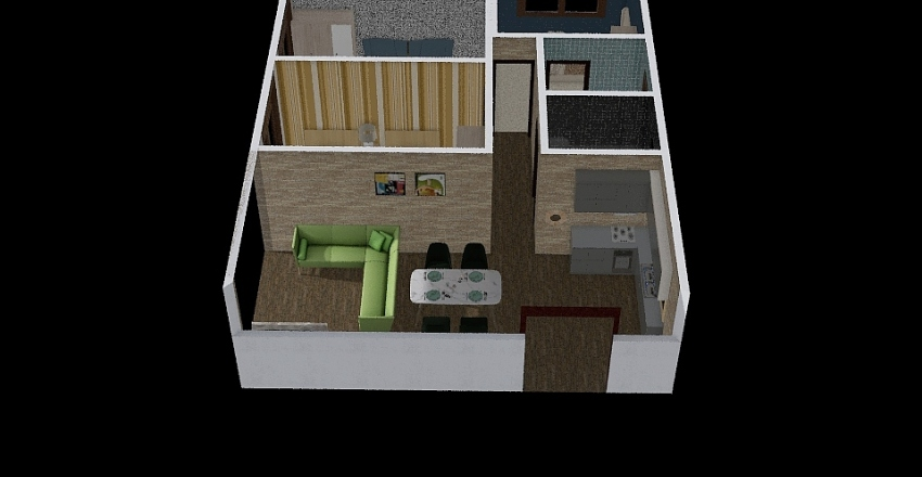 oxera Interior Design Render