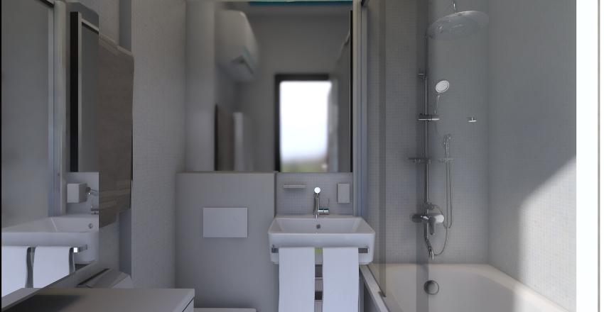 Санузел в хрущёвке Interior Design Render