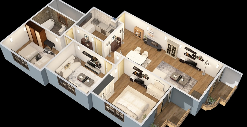4a2a 6 Interior Design Render