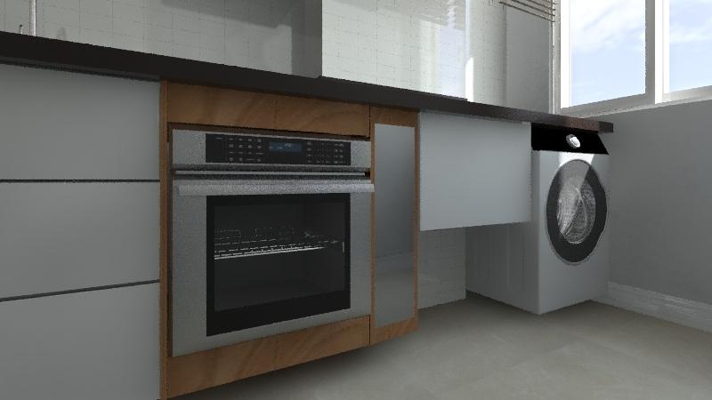 Apto 607 Cá e Ricardo Interior Design Render