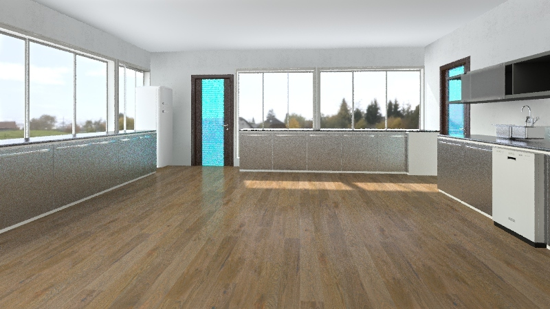 New test kitchen Nazarje Interior Design Render