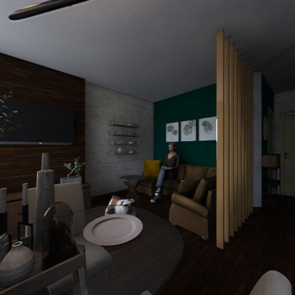 квартира  Interior Design Render