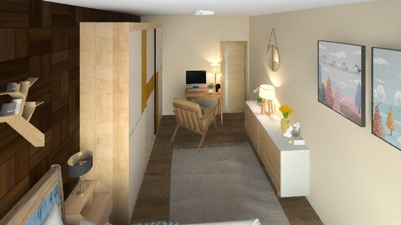 CityHouse Interior Design Render