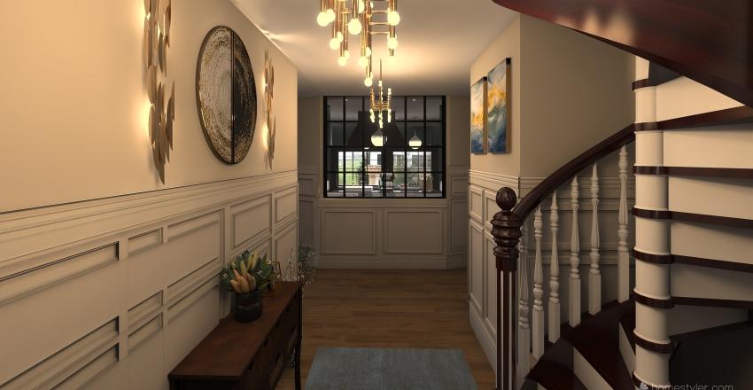 home of my dreams Interior Design Render
