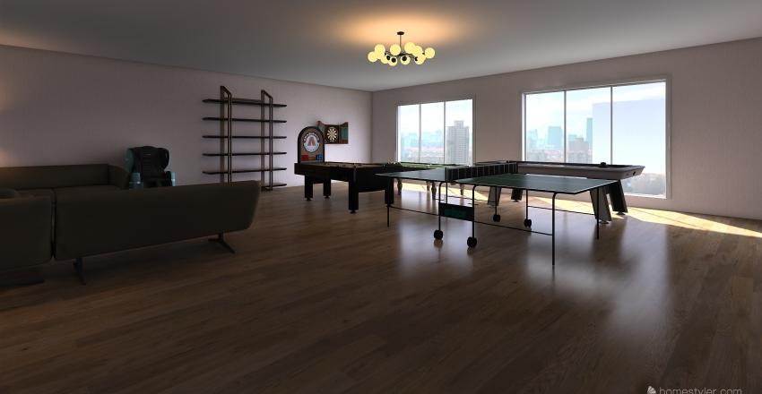 TOMMY ROOM Interior Design Render