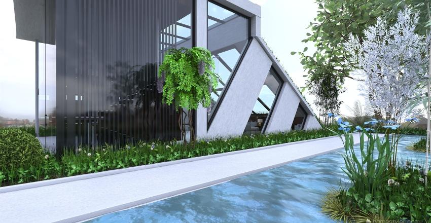 """Villa """" Titanic"""" Interior Design Render"""