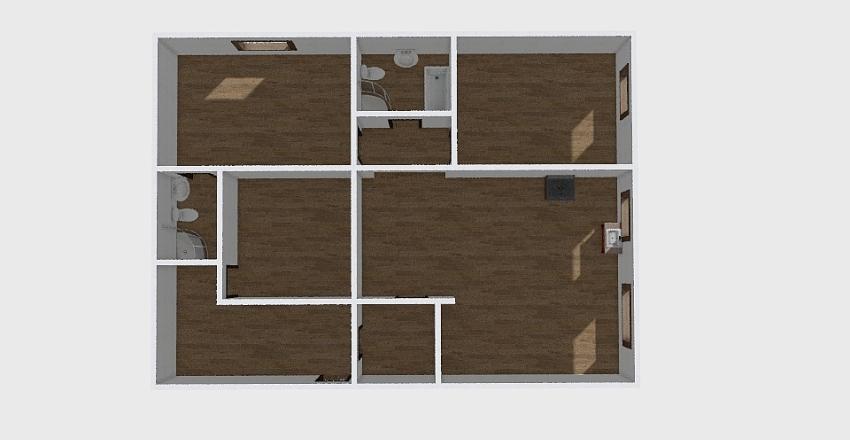 Дома_0350 Interior Design Render