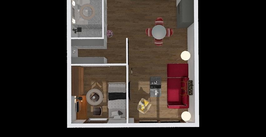 test2_mieszkanie Interior Design Render