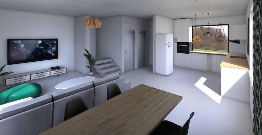 Dom właściwy +- 5 cm PRZEMEBLOWANIE Interior Design Render