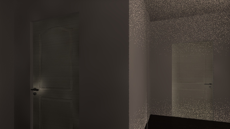 Floor plan Interior Design Render