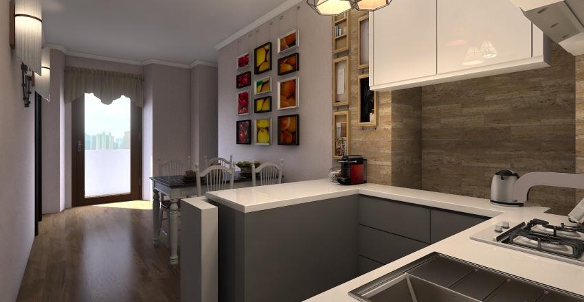 goito 17 Interior Design Render