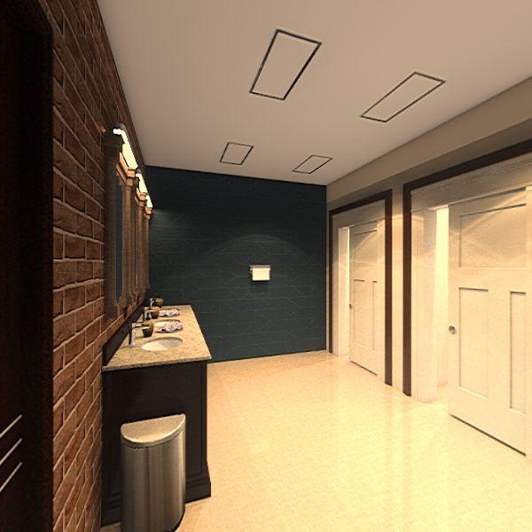 Sweet Tooth Heaven Cafe Interior Design Render