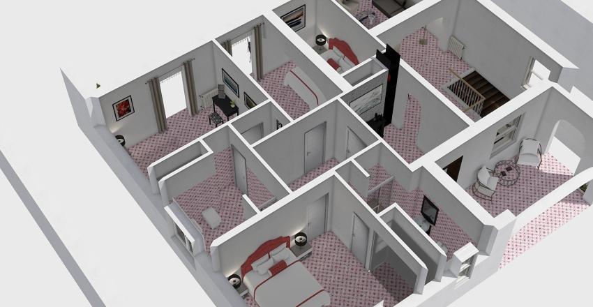 REV 13/01 con pittura Interior Design Render