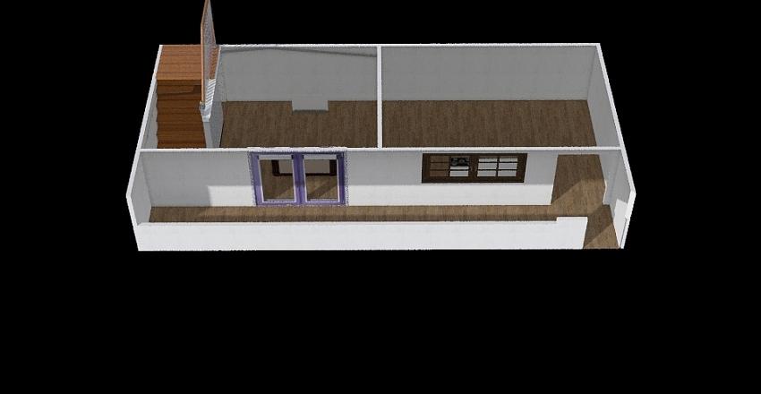 Primeiro andar Interior Design Render