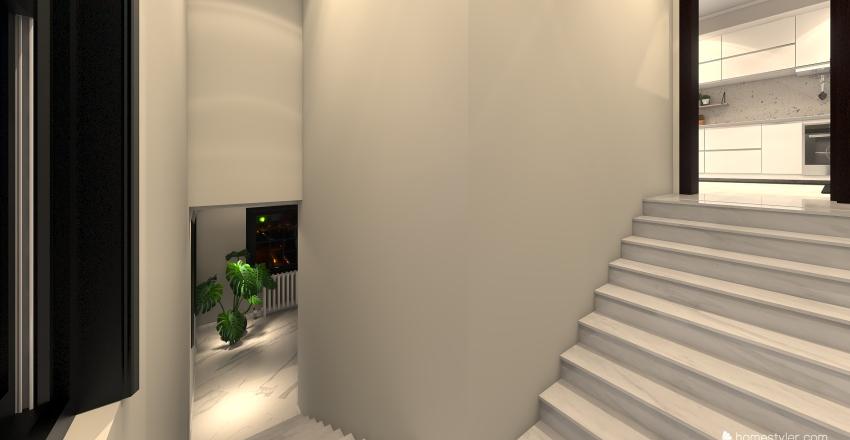 μοντερνο Διαμερισμα Interior Design Render