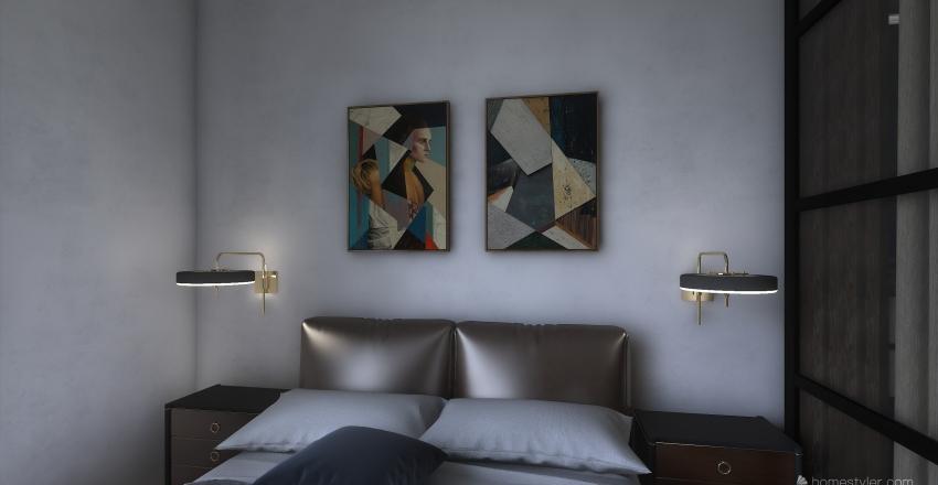bedroom design Interior Design Render