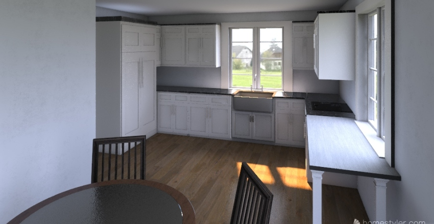 Kuchnia nr 2 Interior Design Render