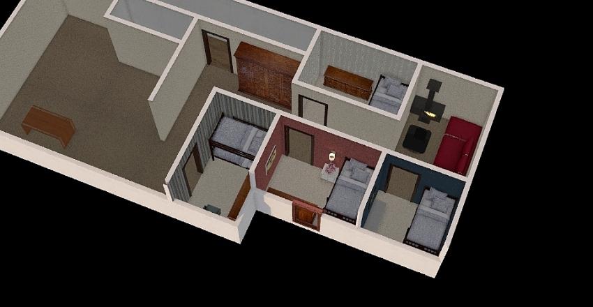 hytteprosjekt_siste Interior Design Render