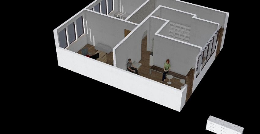 Edv Room 3f Interior Design Render
