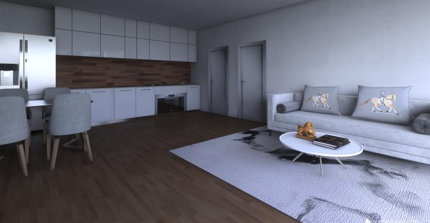 apartment 24 Interior Design Render