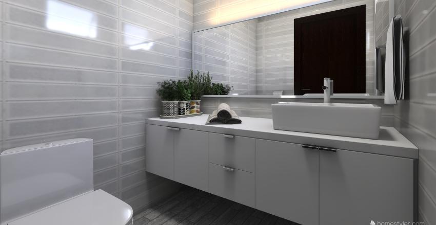 Serene Interior Design Render