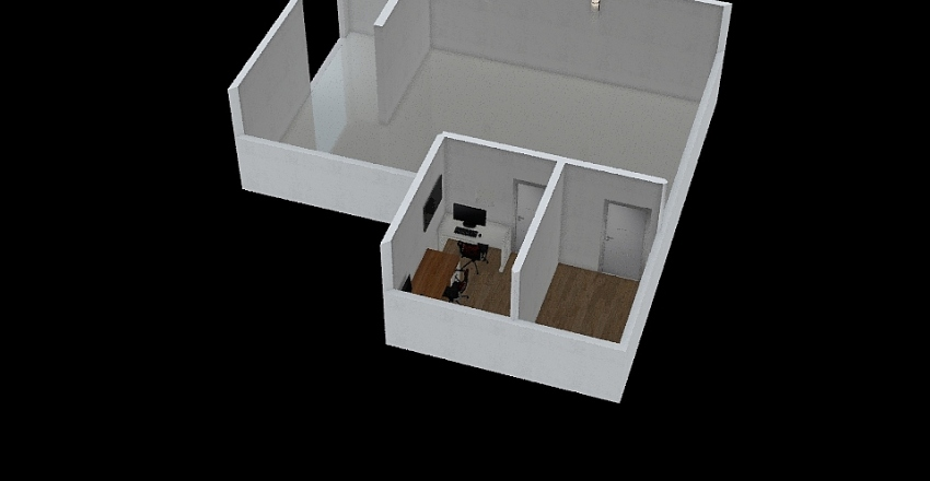Sala Raios-x UPA Interior Design Render
