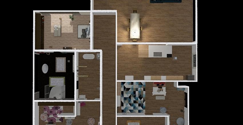 maison 1 Interior Design Render