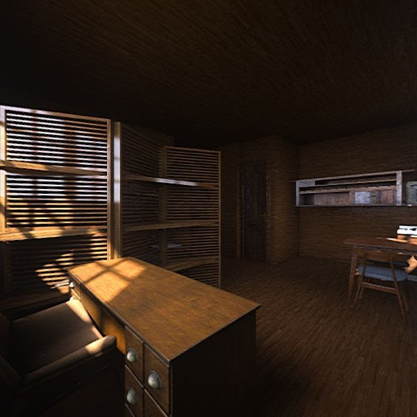Дом в Пеларгире Interior Design Render