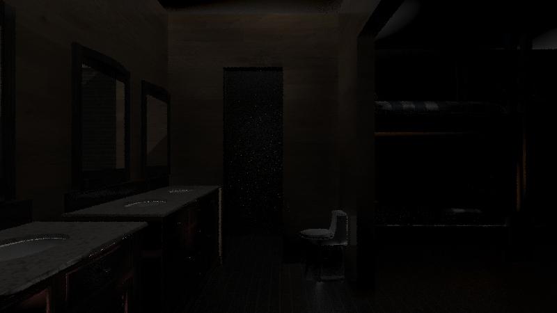 casa de Dios room Interior Design Render