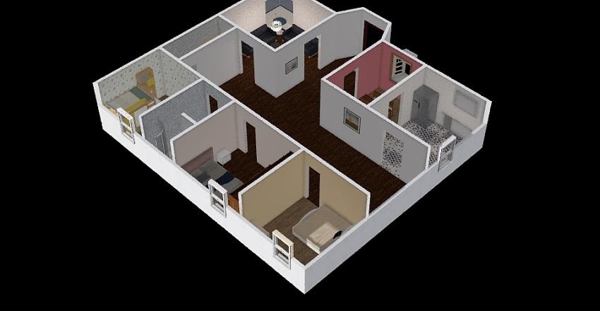housey mousey Interior Design Render