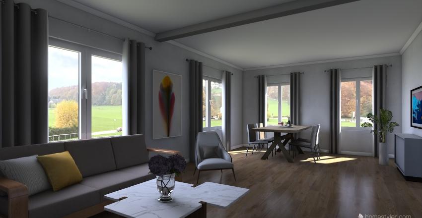 Blaustein EFH  Interior Design Render