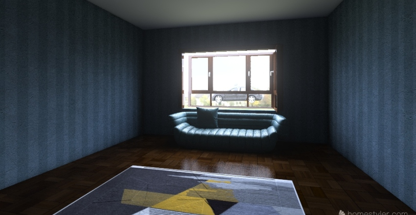 Beginning home  Interior Design Render