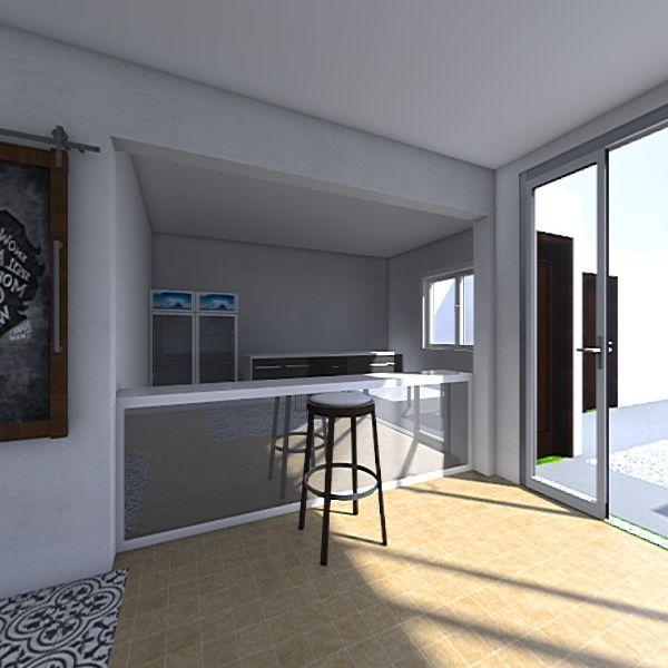 lazaro bar  Interior Design Render