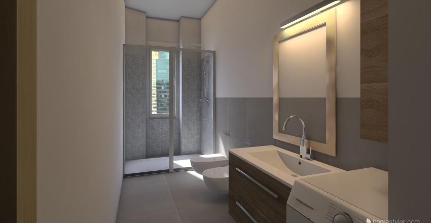 BAGNO FANFULLA 15-01-2020 Interior Design Render