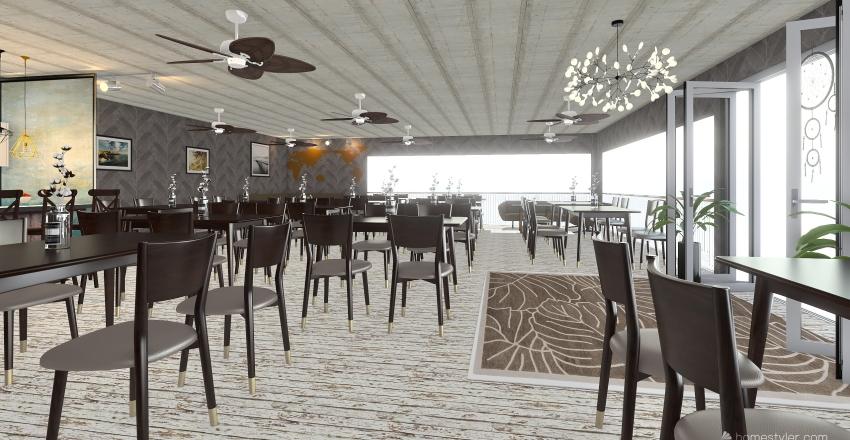 Cocina de Estrella Interior Design Render