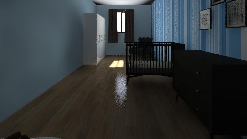quarto boy Interior Design Render