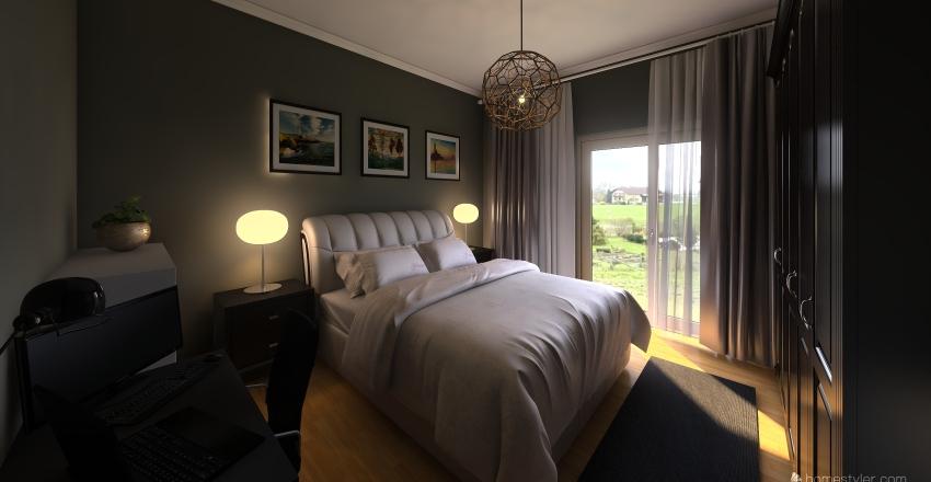 Bedroom Cascais Interior Design Render