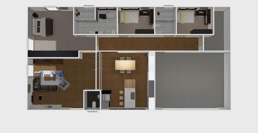 Project AEN-415 01 Interior Design Render